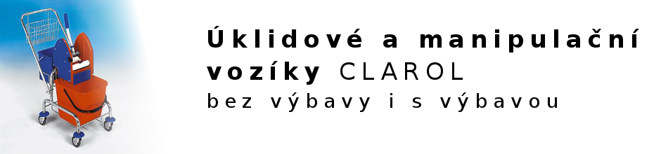 Baner - uklidove voziky CLAROL
